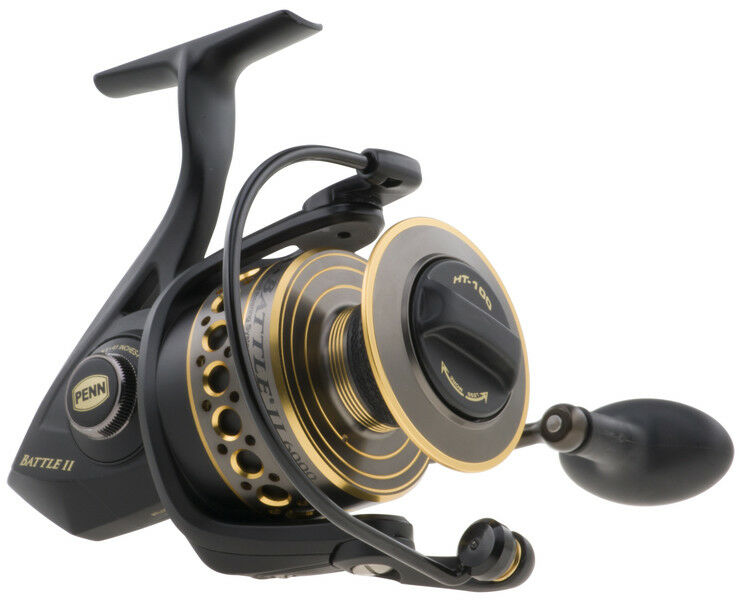 Penn Battle 2 II Spinning Reel All Größes NEW Fixed Spool Reel