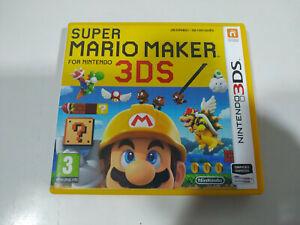 Super Mario Maker Spanisch Portugiesische - Set Nintendo 3DS Ausgabe Spanien