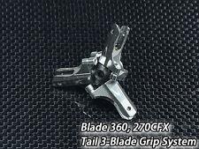 Xtreme Blade 270 CFX / 360 CFX Metal Aluminum 3-Blade Tail Grip System B360X05