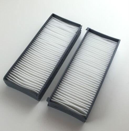 Filtro de polen frase 2 x interior espacio filtro para Hyundai Santa Fe I SM//sonata IV