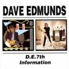 D.E. 7th/Information by Dave Edmunds (CD, May-2002, Beat Goes On)