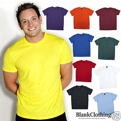 Podium Men's Poly T-shirt | Quick Dry | Plus Sizes | S-5XL Bulk Lot of 10 20