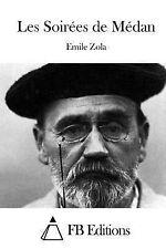 Les Soirées de Médan by Émile Zola (2015, Paperback)