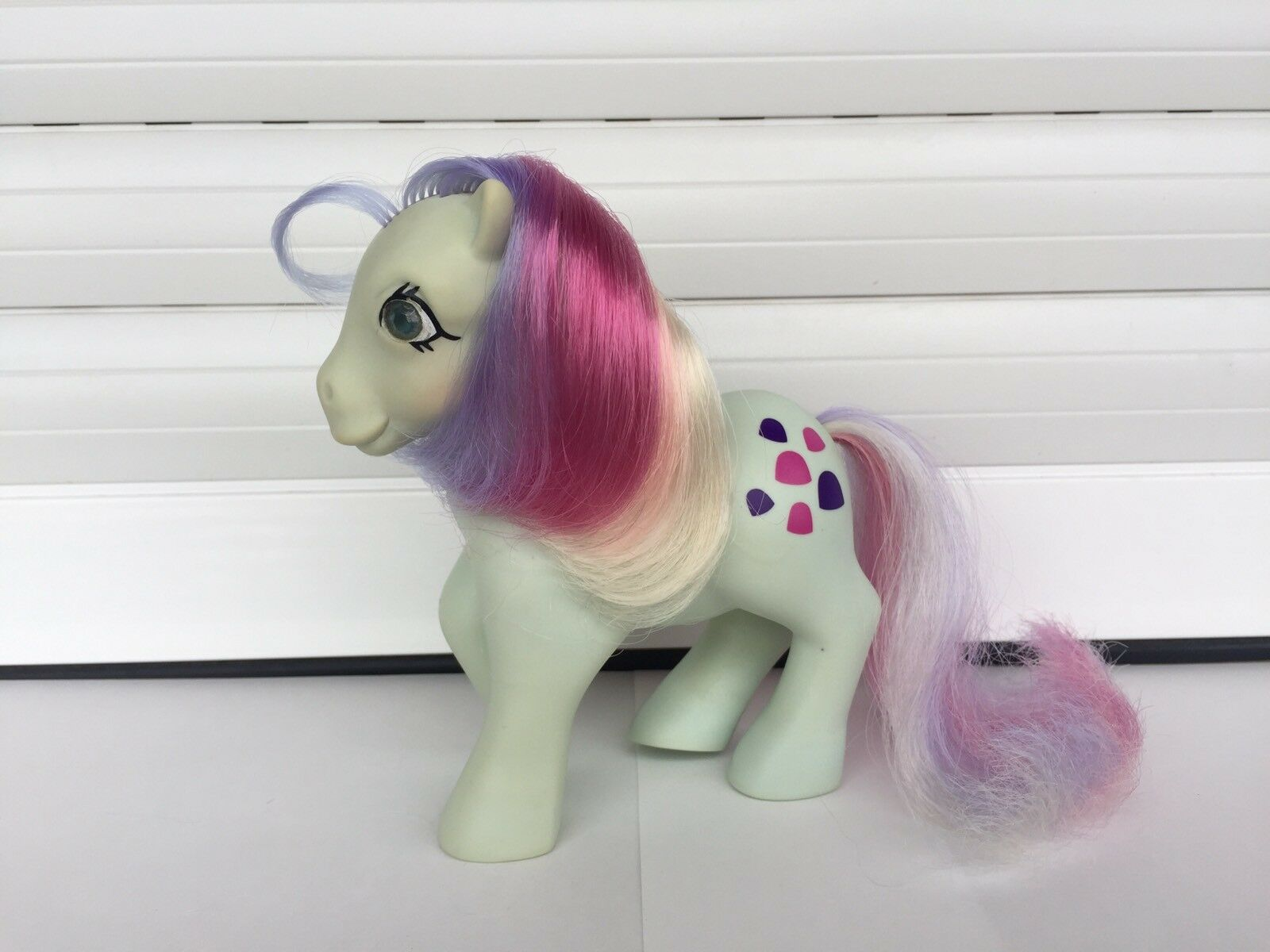 MI PEQUEÑO PONY GOLOSO - MY LITTLE PONY SWEET STUFF - G1 PONY MADE IN SPAIN