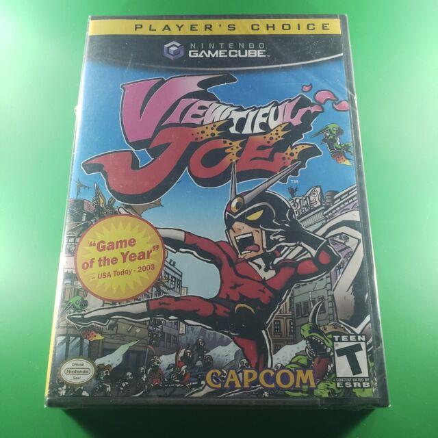 Viewtiful Joe (Player's Choice Nintendo GameCube, 2003) GAME NEW SEALED