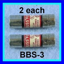 2ea Pre Tested Bbs 3 Fuse 3a 600v For Fluke Dmm 8020 8060 8062 Series 475004