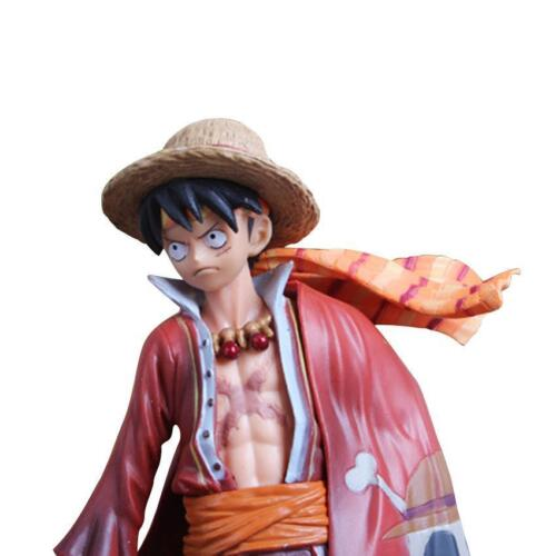 Anime One Piece Heroes Monkey•D•Luffy 18cm PVC Action Figure No Box Boys Toy Action- & Spielfiguren