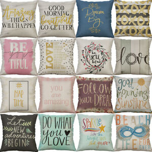 18-034-Letter-Style-Pattern-Pillow-Case-Waist-Cushion-Cover-Throw-Home-Decorative