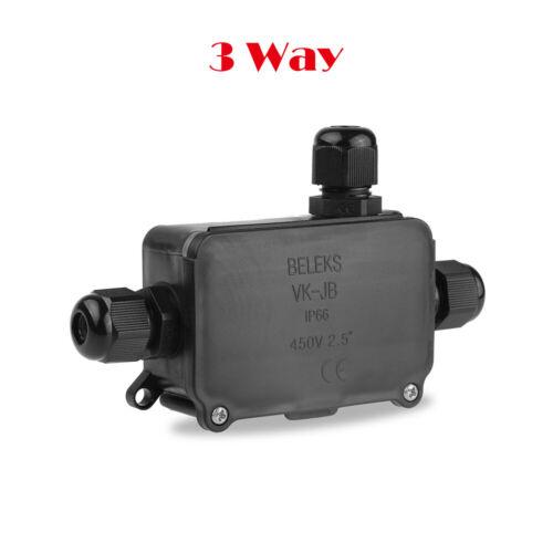 2//3 voies étanche boîte à bornes IP66 450V Boîte de dérivation