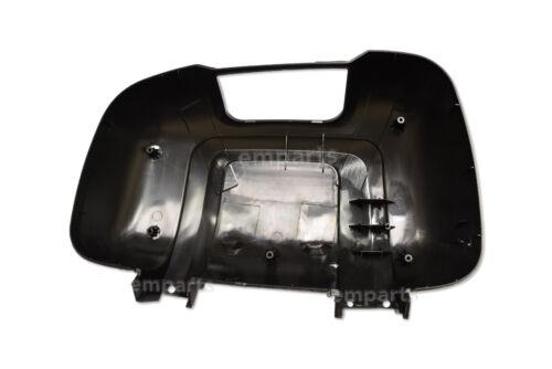 FIAT DUCATO PEUGEOT BOXER  Door Mirror Casing Cover BLACK Medium ARM O//S 2006 On
