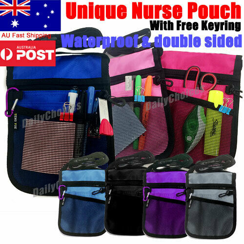 Quality Nurse Teacher VET Physio Medical Childcare Pouch / Bag + FREE Postage