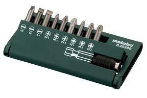Metabo-Bit-Sortiment-Bit-Box-Bit-Set-10-teilig-Art-6-25390-fuer-SE-2800-SE-4000