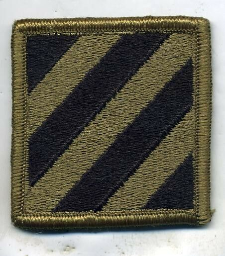 US Army 3rd Infantry Division New MultiCam Camo Patch