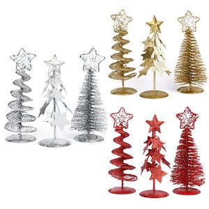 Image Is Loading Small Mini Table Top Christmas Tree Xmas 15cm