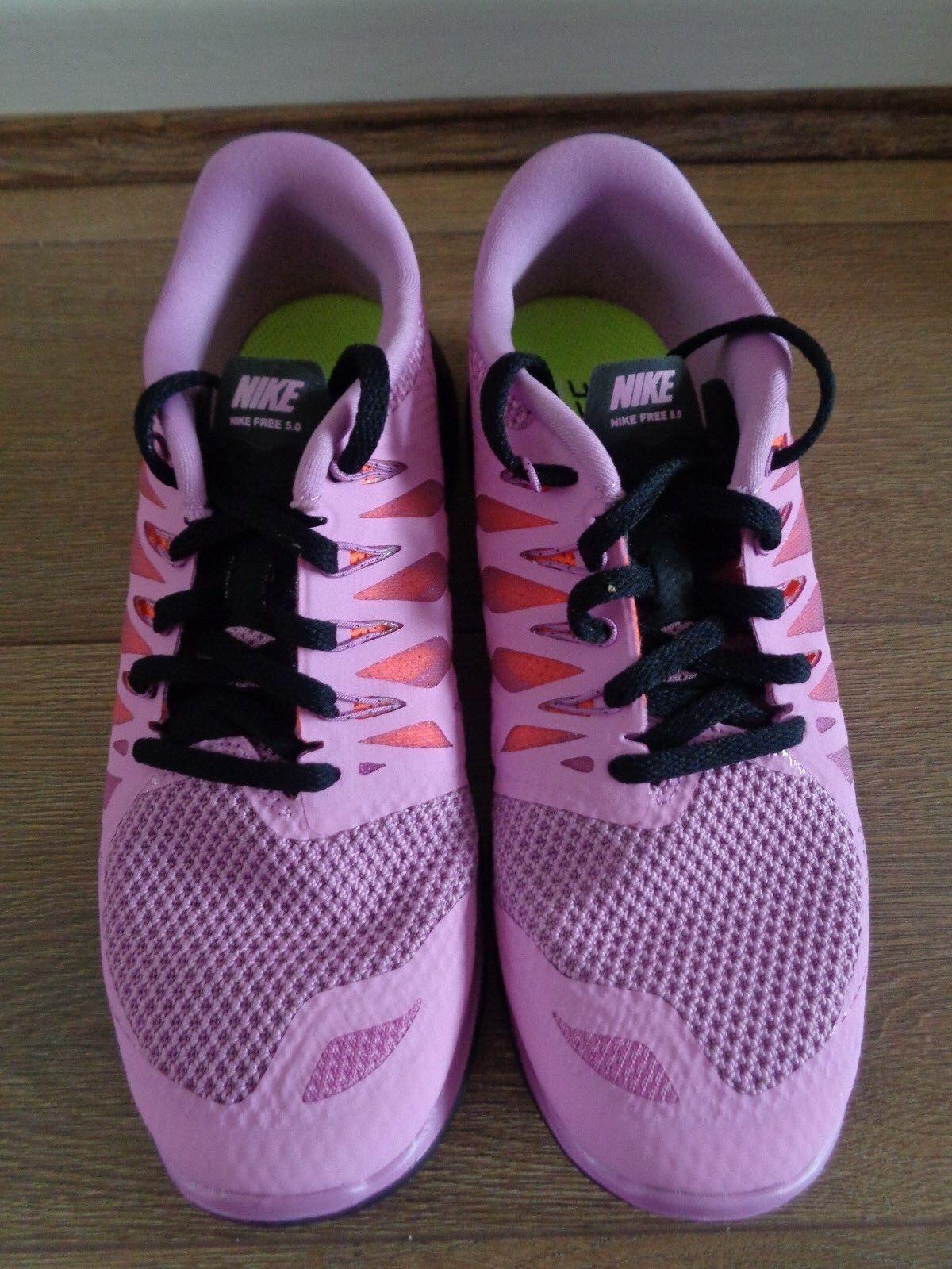 Nike Free 5.0 Linea Donna Scarpe Da Corsa Corsa Corsa Scarpe da ginnastica 642199 503 EU 38.5 US 7.5 NUOVE e72292