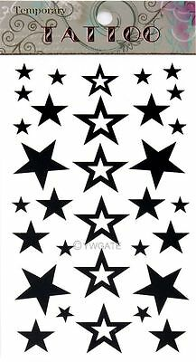 Unisex DIY Pentagram Removable Waterproof Temporary Tattoo Body Art Stickers
