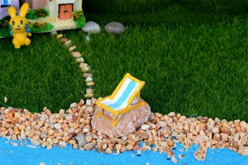 5pcs Beach Chair Decoration Supplies Micro Landscape Deco Creative Handicrafts