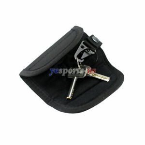 Outdoor Military Pouch Belt Tactical Key Pocket Key chain Holder Case TPI
