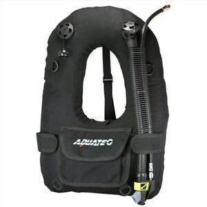 AQUATEC Horse Collar 2 Bladder BCD BC-002 Buoyancy Compensation Scuba Diving