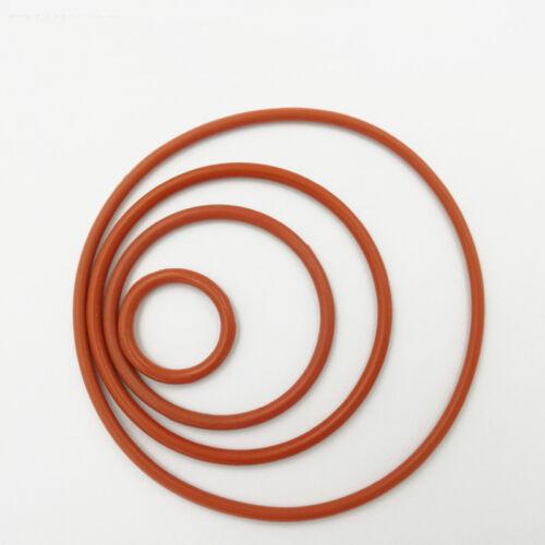 O-Ring MVQ Silikon Schnurstärke=2,4mm Innen Ø =3,2mm zu 10,2mm O-Ringe Neu GLL
