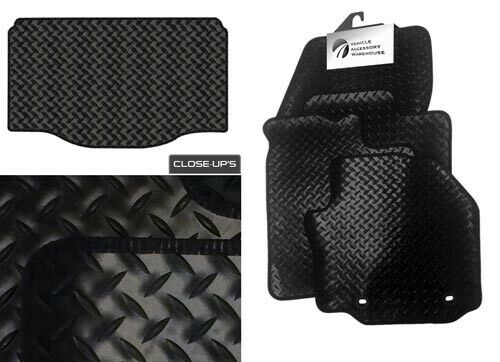 Rubber Tailored Car Mats and Bootmat 2005-2009 Renault Clio