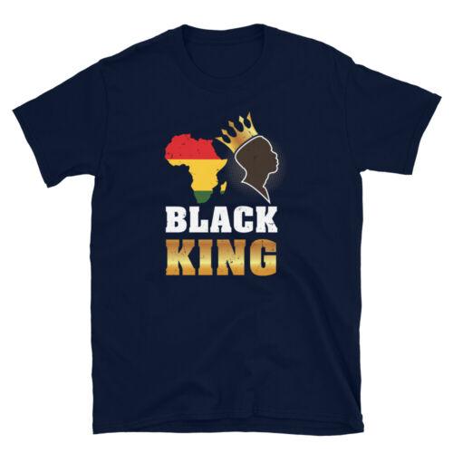 HBCU African American Pride Melanin Black King Short-Sleeve Unisex T-Shirt