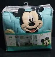 Disney Baby Mickey Mouse Let's Go Mickey 3-Piece Crib Bedding Set Unisex