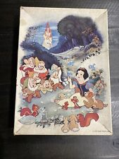 Snow White and the Seven Dwarfs Disney Animation Decoration Puzzle Jigsaws 1000