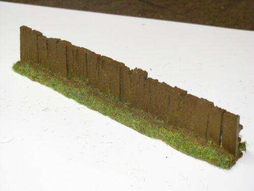 """1pk OO//HO Brown Sleeper Fencing PF9b Javis 1/"""" x 5.5/"""""""
