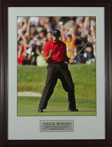 Tiger-Woods-Fist-Pump-2008-US-Open-Framed-Photo-11x14-OR-16x20