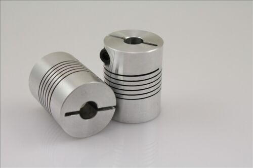 10x12mm Clamp Shaft Coupling 10 to 12mm Motor Coupler
