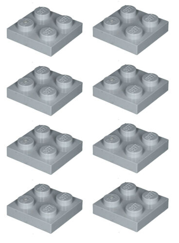 Missing Lego Brick 3022 MdStone x 8  Plate 2 x 2