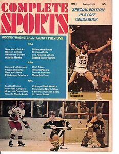 1972-Complete-Sports-magazine-Kareem-Abdul-Jabbar-Bobby-Orr-Boston-Bruins-Gd