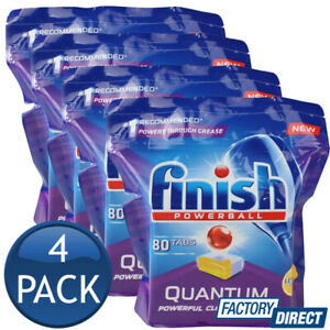 4-x-FINISH-QUANTUM-POWERBALL-LEMON-DISHWASHING-CLEAN-TABS-TABLETS-BULK-80-PACK