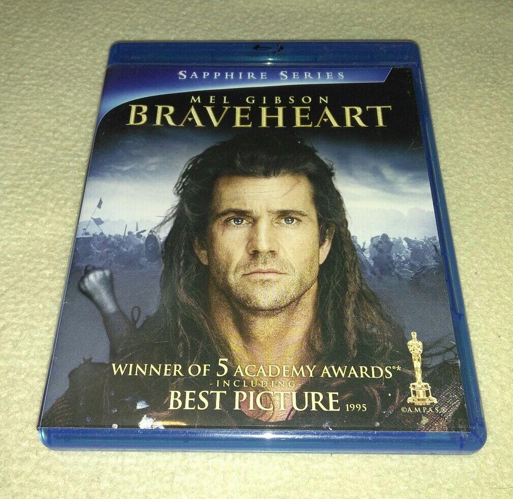 Braveheart Sapphire Series Blu Ray 2 Disc Set Mel Gibson