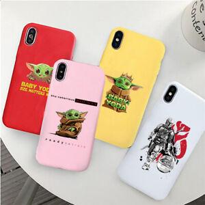 Baby-Yoda-Meme-Star-Wars-Mandalorian-soft-silicone-Case-iPhone-7-8-XS-11-Pro-Max