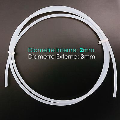 Espressive Tube Ptfe 3x2mm Extrudeur Bowden Pipe Pour Filament 1.75mm Imprimante 3d Printer Firm In Structure
