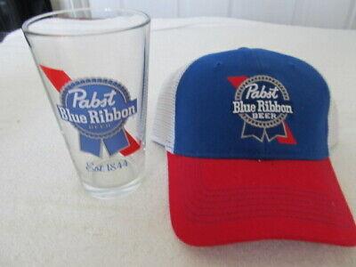 PBR Pabst Blue Ribbon Beer Vintage 80's Trucker Hat Snapback Rodeo Cowboy RWB