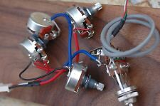 epiphone lp fits sg, es335, wiring harness - alpha pots oem - ships  immediately