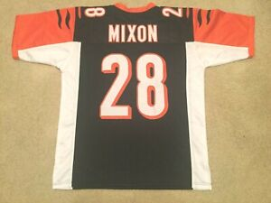 UNSIGNED CUSTOM Sewn Stitched Joe Mixon Black Jersey - M, L, XL ...