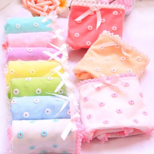 Cotton Underwear Women Panties Briefs Beautiful Design Comfortable Low-Waist New