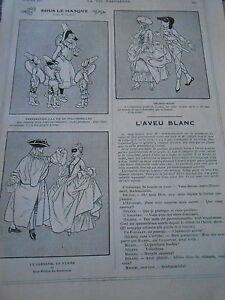 Sous-le-Masque-Polichinelles-Carnaval-de-Venise-Alequinade-Print-Humour-1912