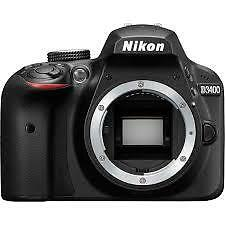 NIKON D3400 BODY ONLY WITH NIKON INDIA WARRANTY !!.