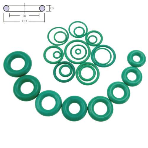 10pcs Oil Resistant FKM  Fluorine Rubber Sealing O-Ring OD 4-50mm CS 1.5mm