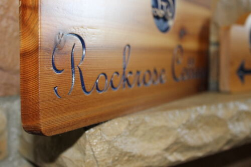 Personalized Wood Signs Custom lake house  Sign Family Name Carved Cabin Decor