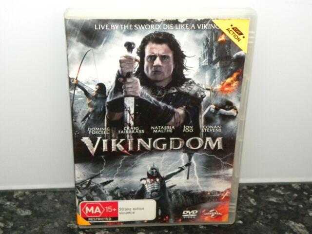 Vikingdom -  DVD - Region  2 & 4 PAL - Ex Rental - GC