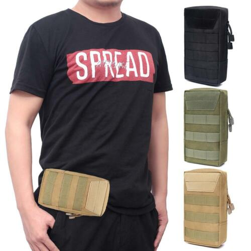 EDC Molle Pouch Waterproof Nylon Vest Waist Belt Bag for Outdoor Hunting