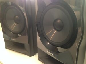 Sony Muteki Ss Wp7m Speakers Pair Ebay