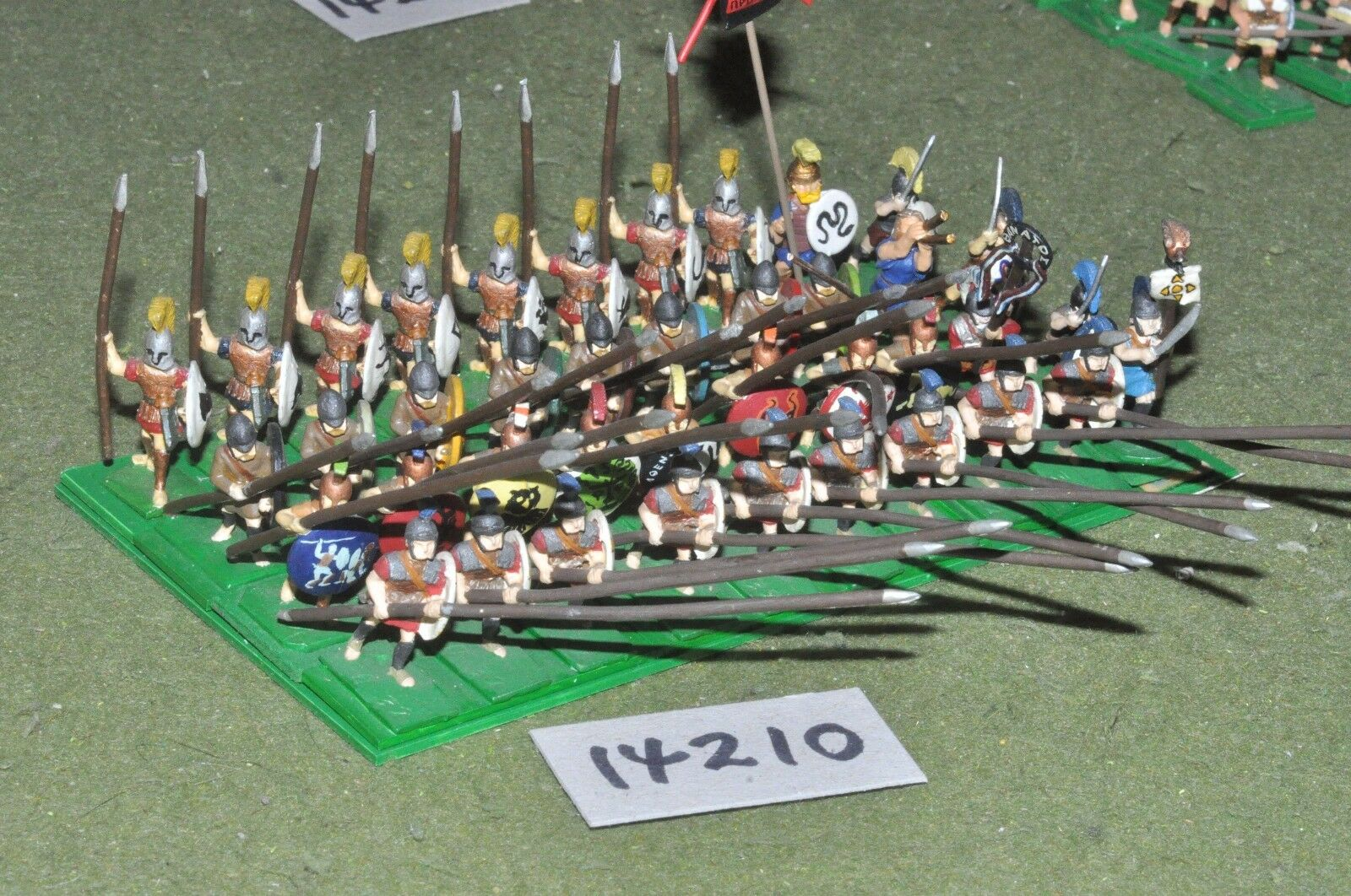 25mm classical   greek - ancient infantry - inf (14210)