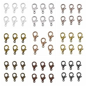Lobster-Claw-Clasps-100pcs-Alloy-DIY-Jewelry-Fingdings-Connector-Necklace-Chain